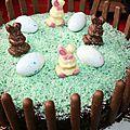 Gâteau de pâques 2014
