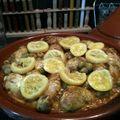 <b>Tagine</b> de poulet aux citrons confits