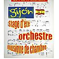 STAGE ORCH