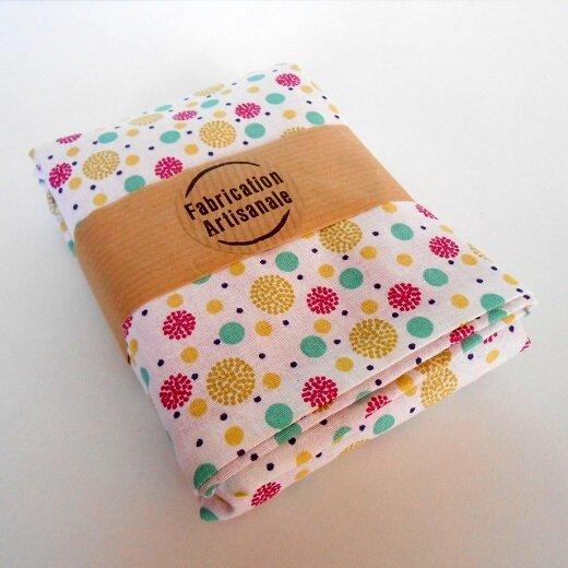 tote bag clocréations-bulles multicolores3