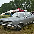 <b>AMC</b> Rambler Renault Rebel Automatic berline 4 portes 1967