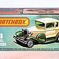 001 MB73 Ford Model A Voiture 2 Box