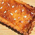 La tarte des maîtresses au citron vert, à la mangue et à la noix de coco: pour provoquer la chance aux concours!