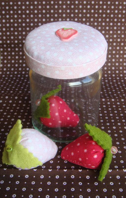 Pot de fraises pour Yulie (colis printemps)