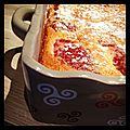 Clafoutis aux <b>fraises</b> de <b>Plougastel</b>