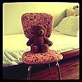 Une chaise de princesse