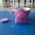 Sachet thé en feutrine