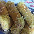 Mini chaussaons au fromage (manchons)
