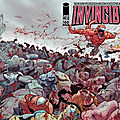 Invincible 100 double page cover