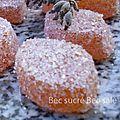 Pâtes de fruits abricots & lavande