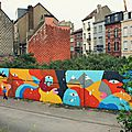 Des couleurs dans la ville