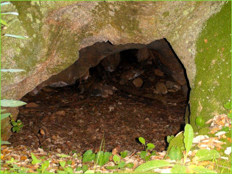 Intérieur Abri sous Roche - Néolithique ancien