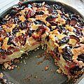 Gâteau autrichien aux prunes