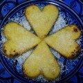 Coeurs de polenta pour toi !