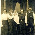 Deux soeurs queffelec émigrent en 1909 dans l'ouest américain, partie 2 [ famille briec l'isle]
