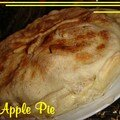 Apple pie - tourte aux pomme, grande-bretagne (sans lait)