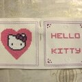 Biscornu Hello Kitty 2