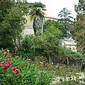 Gironde - jardin médiéval de bazas