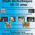 club robotique