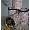 De jolis papiers font de belles boites recyclées