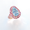 A rare coloured diamond ring, by <b>Moussaieff</b>