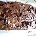 Brioche au chocolat et pépites de chocolat