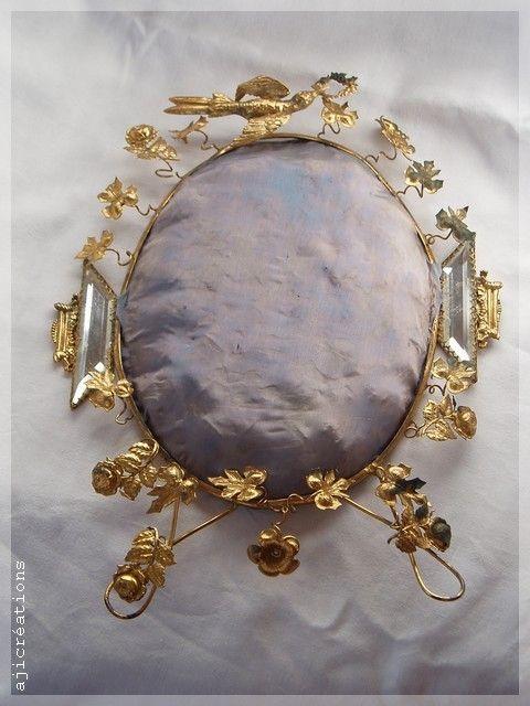 Calote de globe de mariée (Napoléon III)