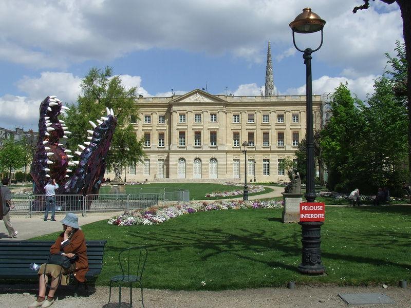 Bordeaux - Hôtel de Ville (côté jardin)