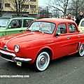 Renault dauphine (retrorencard avril 2013)