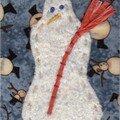 bonhomme de neige-Claire H