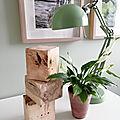 Blocs décoratifs en <b>bois</b> de palette