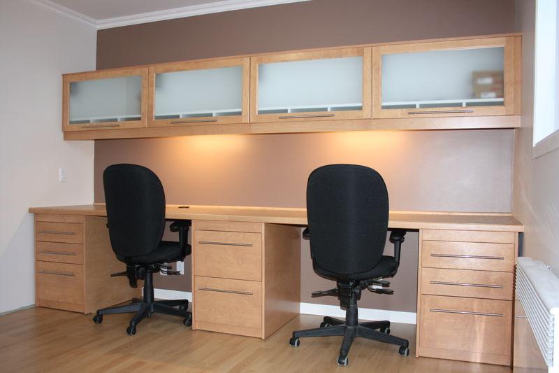 meuble de bureau sur mesure album photos r novation michel leclerc. Black Bedroom Furniture Sets. Home Design Ideas