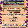 Beziers - grang gala taurin - dimanche 27 mai