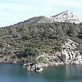 Barrage et lac de bimont