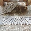 dentelle de coton blanche 4cm 2