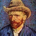 Van Gogh - Autoportrait 7 - 1887-88