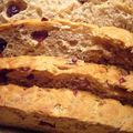 Cranberries pecan loaf