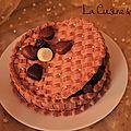 Bavarois Ecrin chocolats