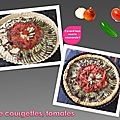 <b>Tarte</b> courgettes, tomates