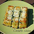 Gâteau épinards-ravioles