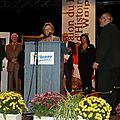 Madeleine Thoen proclame le Prix du Livre d'Histoire