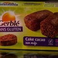 Cake cacao aux oeufs - sans gluten - gerble - 5 miss/5