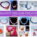 Concours : un <b>bon</b> <b>d</b>'<b>achat</b> de 12 euros chez Mandy Dreams Créations