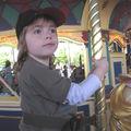 Nathan sur le manège de Lancelot