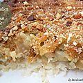 Parmentier de poisson, poireaux et pommes de terre