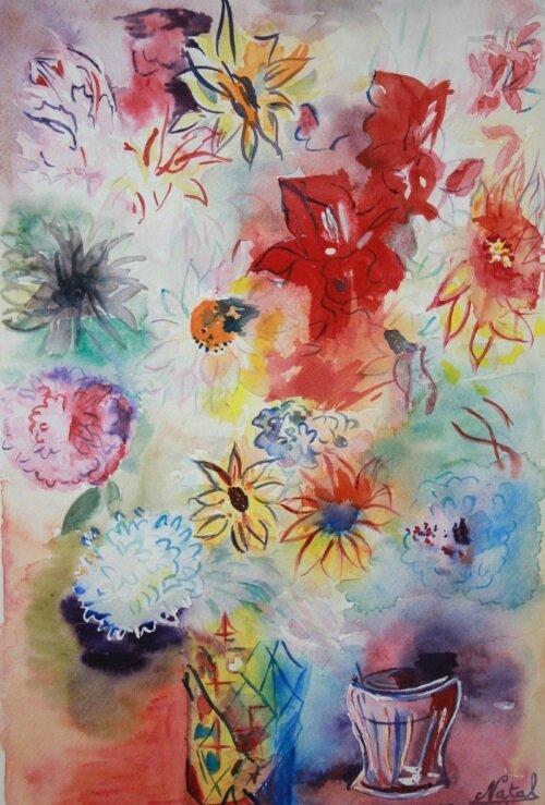 2014-12-25 fleurs dufy
