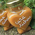 Cara lichou, une confiture de <b>lait</b> au caramel <b>beurre</b> salé pour un petit coeur de <b>beurre</b>...