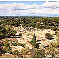 La balade du dimanche : les vestiges gallo romains de <b>Glanum</b> à Saint Rémy de Provence