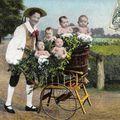 Bébés en brouette