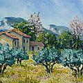 Mas en Provence dans les Alpilles